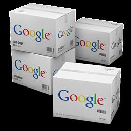 il database, gli scatoloni di Google